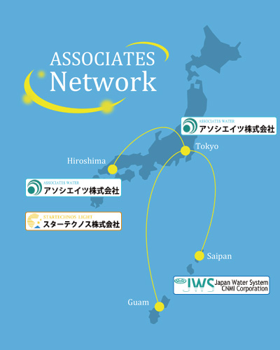 Associates Corporate-Group Network Map